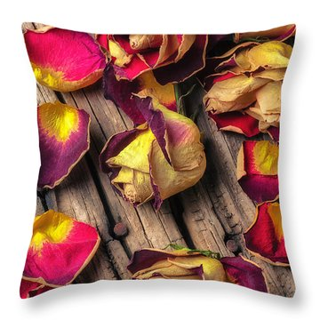 Beautiful Decay Throw Pillow by Garry Gay