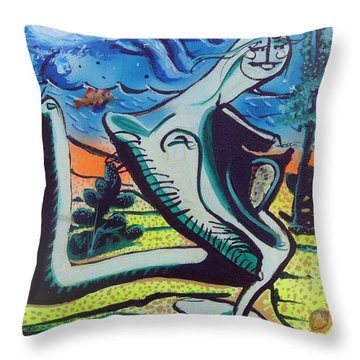 Beautiful Dreamer Bella Reveuse Au Le Monde Throw Pillow by Feile Case