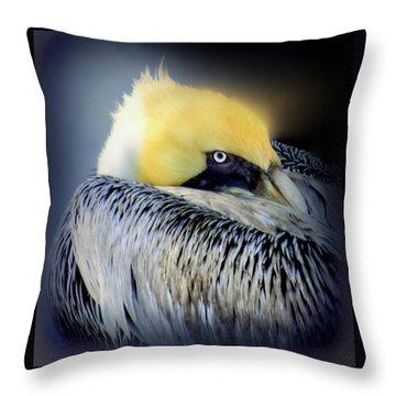 Beautiful Dreamer Throw Pillow by Karen Wiles