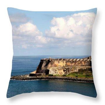 Beautiful El Morro Throw Pillow
