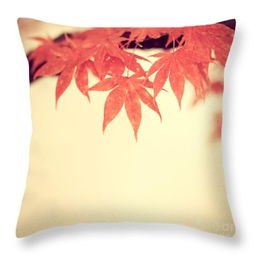 Beautiful Fall Throw Pillow