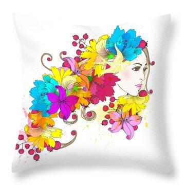 Pleasure Throw Pillows