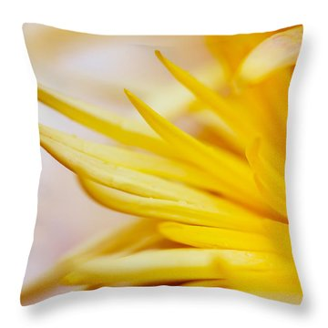 Spring Flower - Nature Photography Throw Pillow by Modern Art Prints