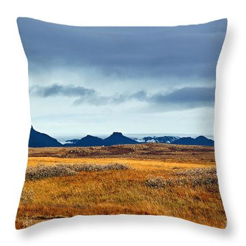 Beautiful Iceland Throw Pillow