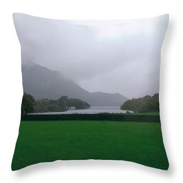 Beautiful Ireland Throw Pillow by Tim Townsend