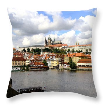 Throw Pillow featuring the photograph Beautiful Prague by Ira Shander
