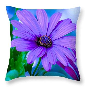 Beautiful Silence Throw Pillow