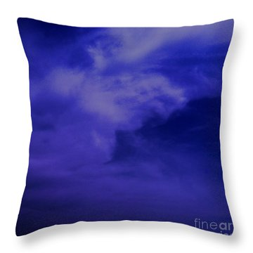 Beautiful Sky Throw Pillow by Saribelle Rodriguez