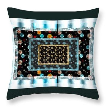 Beautiful Snow  Throw Pillow