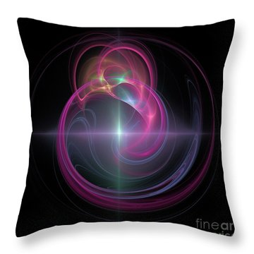 Beautiful Star Throw Pillow by Elizabeth McTaggart