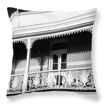 Beautiful Balcony Throw Pillow
