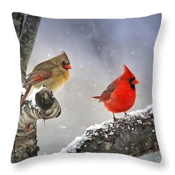 Beautiful Together Throw Pillow