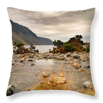 Beautiful Wastwater Throw Pillow