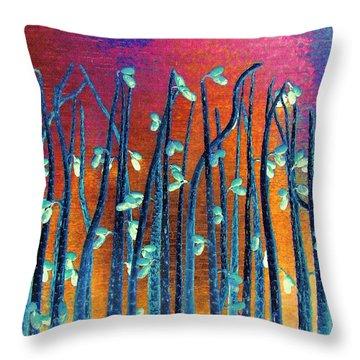 Beautiful Weeds On Venus Throw Pillow by Alec Drake