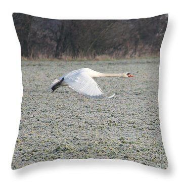 Beautiful Wild Geese Throw Pillow