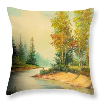Beautiful Wild  Throw Pillow