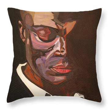 Beautifully Scarred Throw Pillow
