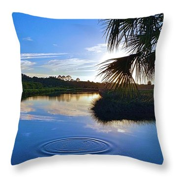 Beautifulness Throw Pillow