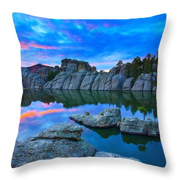 Beauty After Dark Throw Pillow