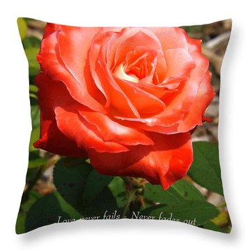 Beauty At Its Best Throw Pillow