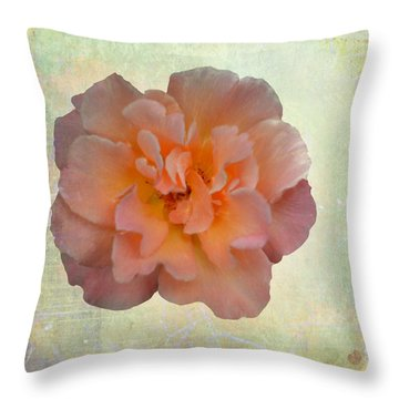 Beauty Captured Throw Pillow
