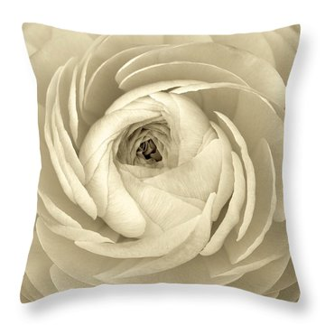 Beauty Throw Pillow by Colleen Williams
