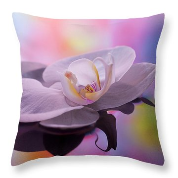 beauty Flower Throw Pillow