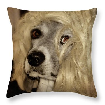 Beauty Throw Pillow by Gothicrow Images