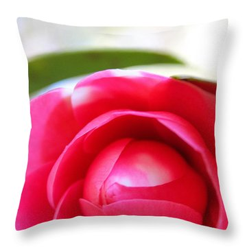 Beauty In Bloom Throw Pillow