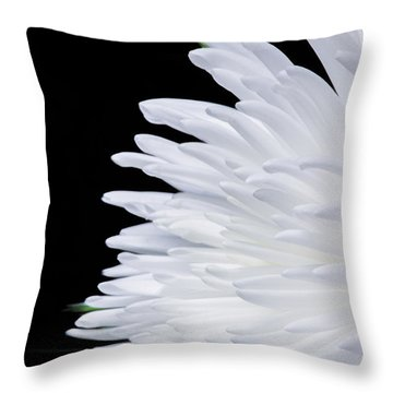 Beauty In Contrast Throw Pillow