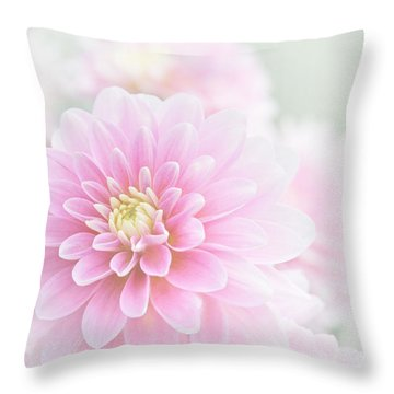 Beauty Iv Throw Pillow
