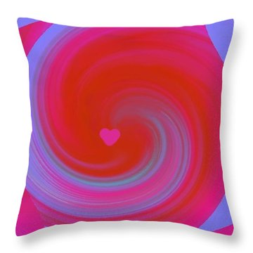 Beauty Marks Throw Pillow by Catherine Lott