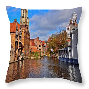 Beauty Of Belgium Throw Pillow