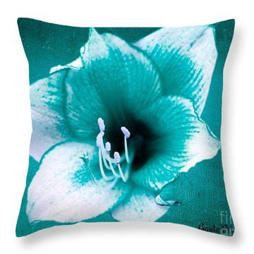 Throw Pillow featuring the digital art Beauty Of Nature 2 by Gayle Price Thomas