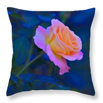 Flower 9 Throw Pillow