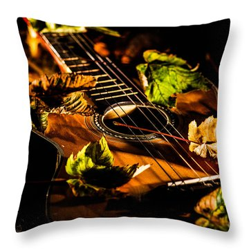 Beauty Of String's Throw Pillow