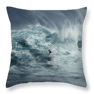 Beauty Of The Extreme Throw Pillow by Bob Christopher