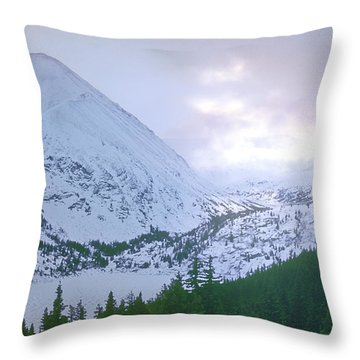 Beauty Of The Rockies Throw Pillow by Kellice Swaggerty