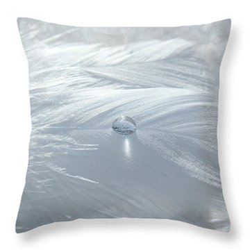 Beauty Of White Throw Pillow