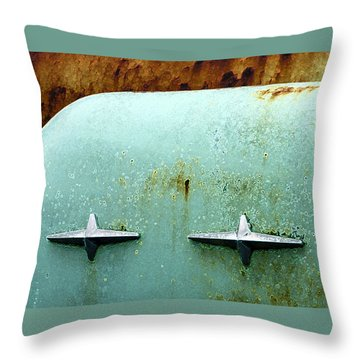 Beauty With Age Throw Pillow by Jean Noren