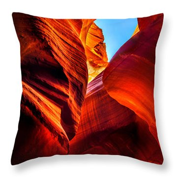 Beauty Within Throw Pillow by Az Jackson
