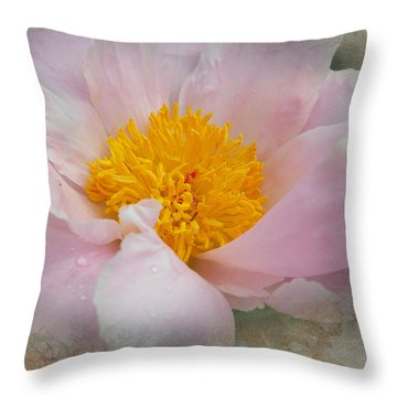 Beauty Woven In Throw Pillow