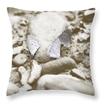 Beauty X3 Throw Pillow by Melissa Petrey