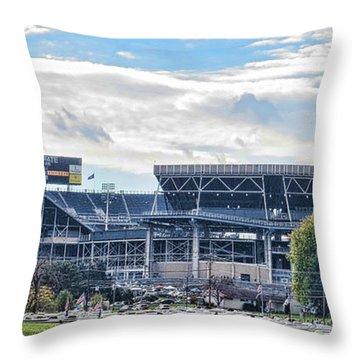Beaver Stadium Game Day Throw Pillow