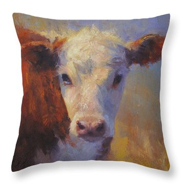 Bebe Throw Pillow by Susan Williamson