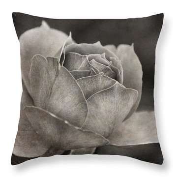 Beckoning Rose Throw Pillow