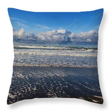 Beckoning Sea Throw Pillow