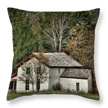 Becky Cable House Throw Pillow