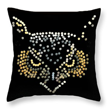 Bedazzled Owl Throw Pillow
