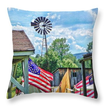 Bedford Village Pennsylvania Throw Pillow